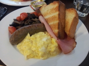 Breakfast Plate @ Selfish Gene Cafe