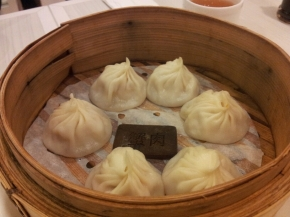 Crab Roe & Pork Filling Steamed Bun